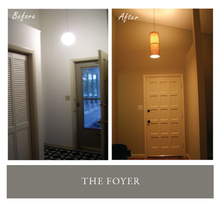 Foyer Before & After