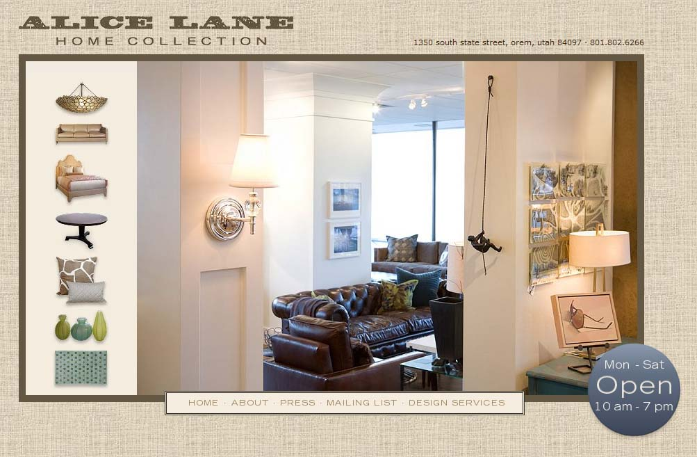 Alice Lane Home Collection