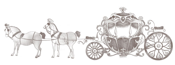 Carolina Ballet Ballet carriage graphic