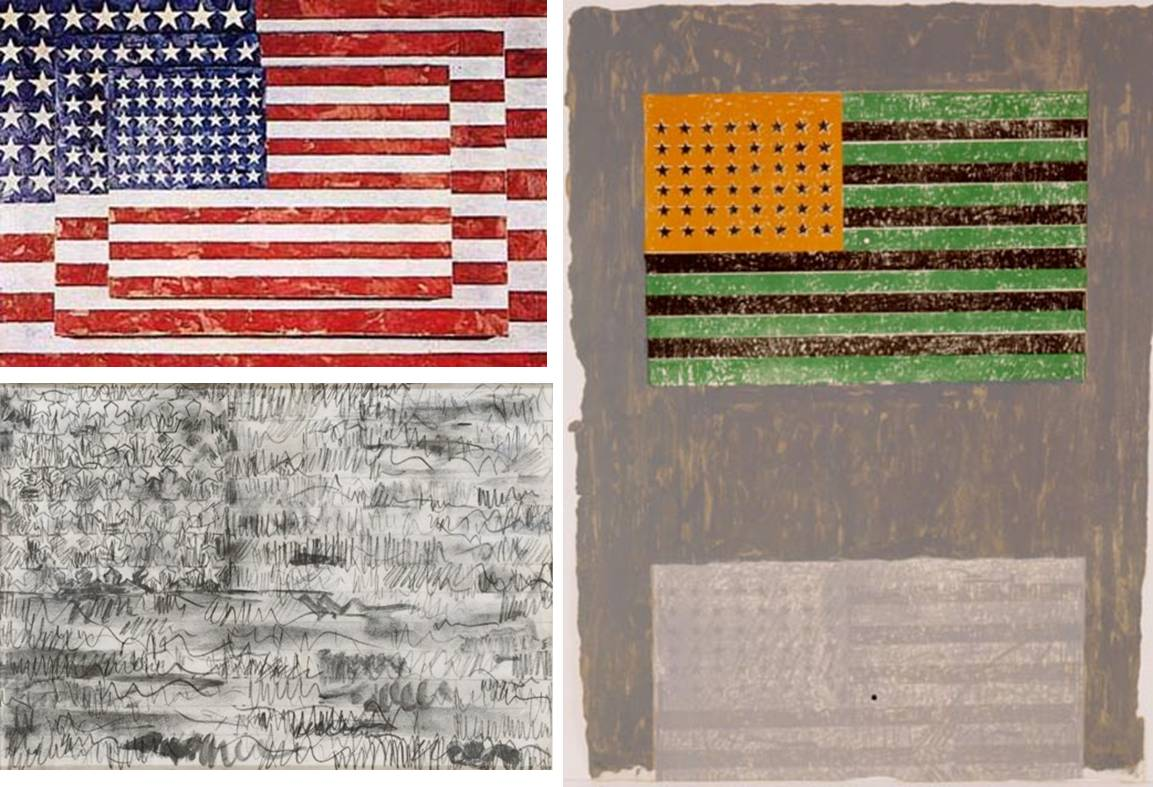 Jasper Johns Flags