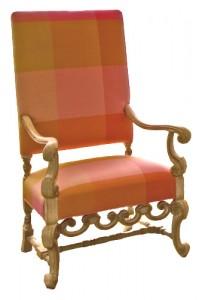 Petrified Wood, Jacobean Chair