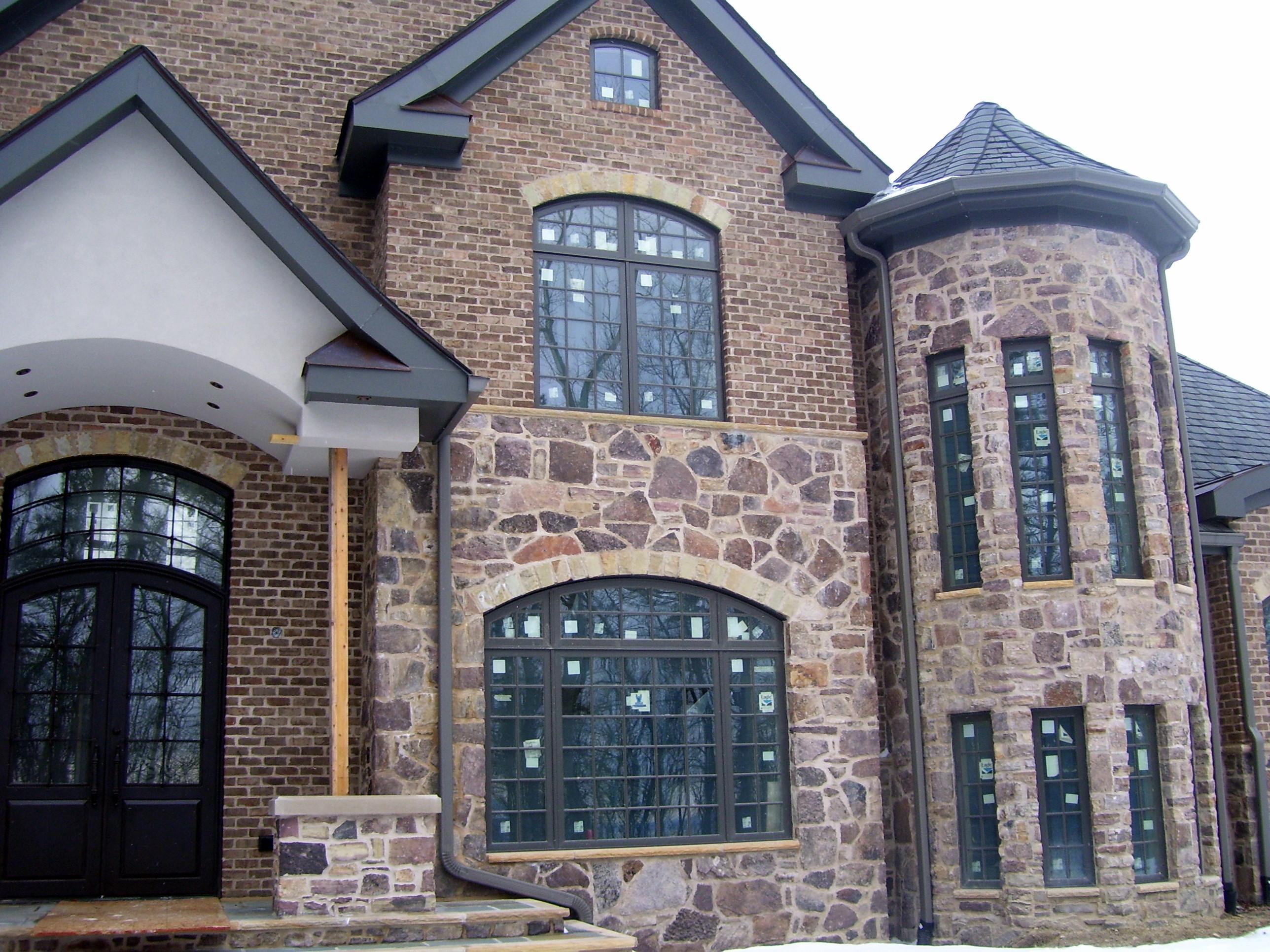 Exterior Finishes on VA house