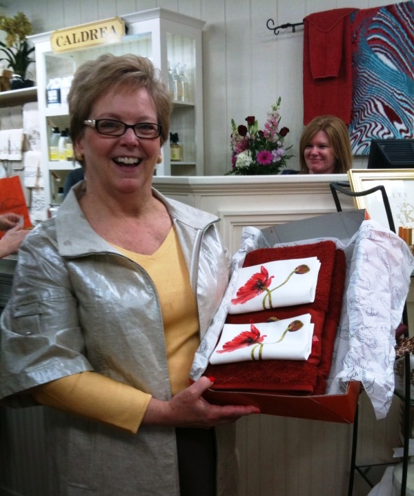 Judy was winner at Opulence in Cary
