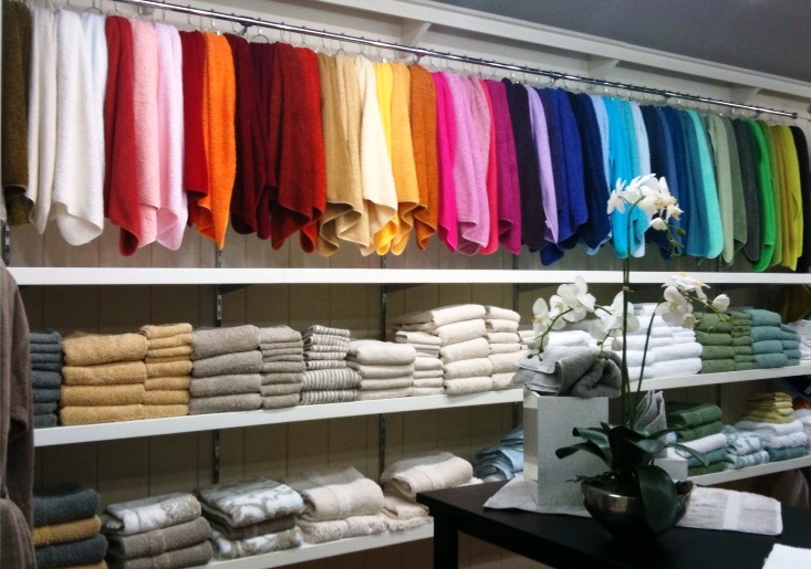 Opulence in Cary Towel Wall