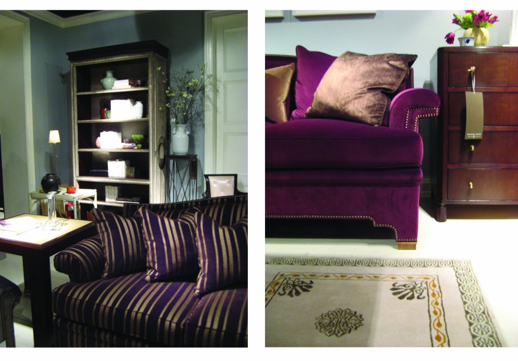 Design Lines Purple Trends