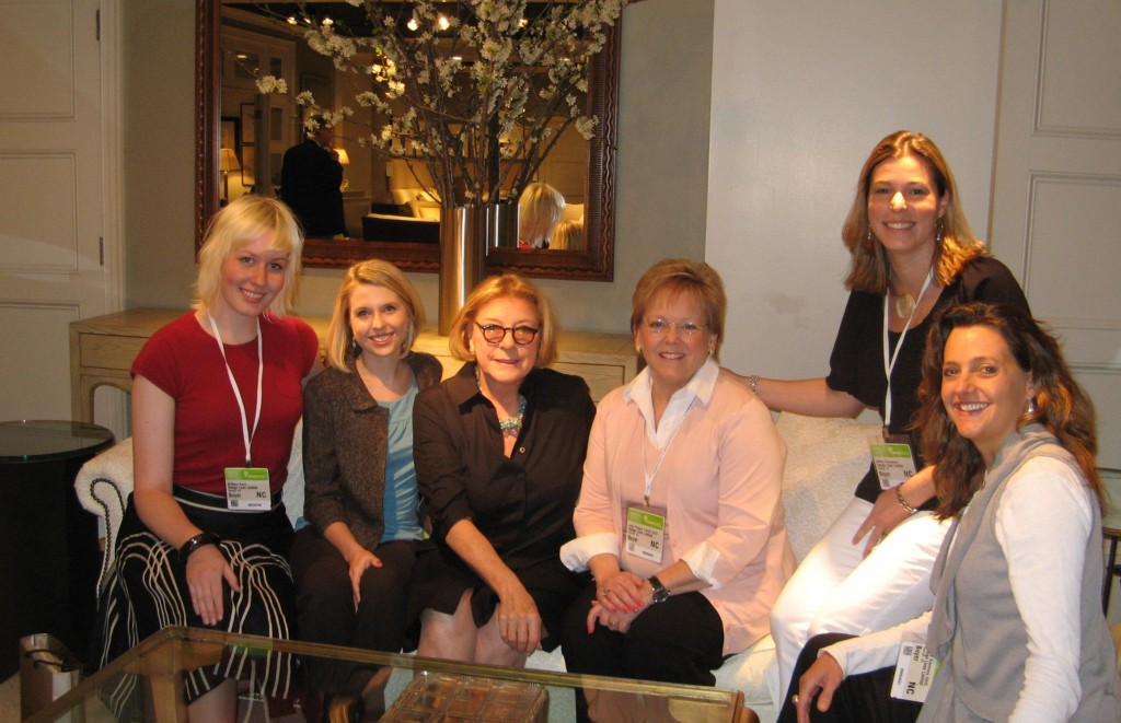 Design Lines with Mariette Himes Gomez in Hickory Chair Showroom 2010