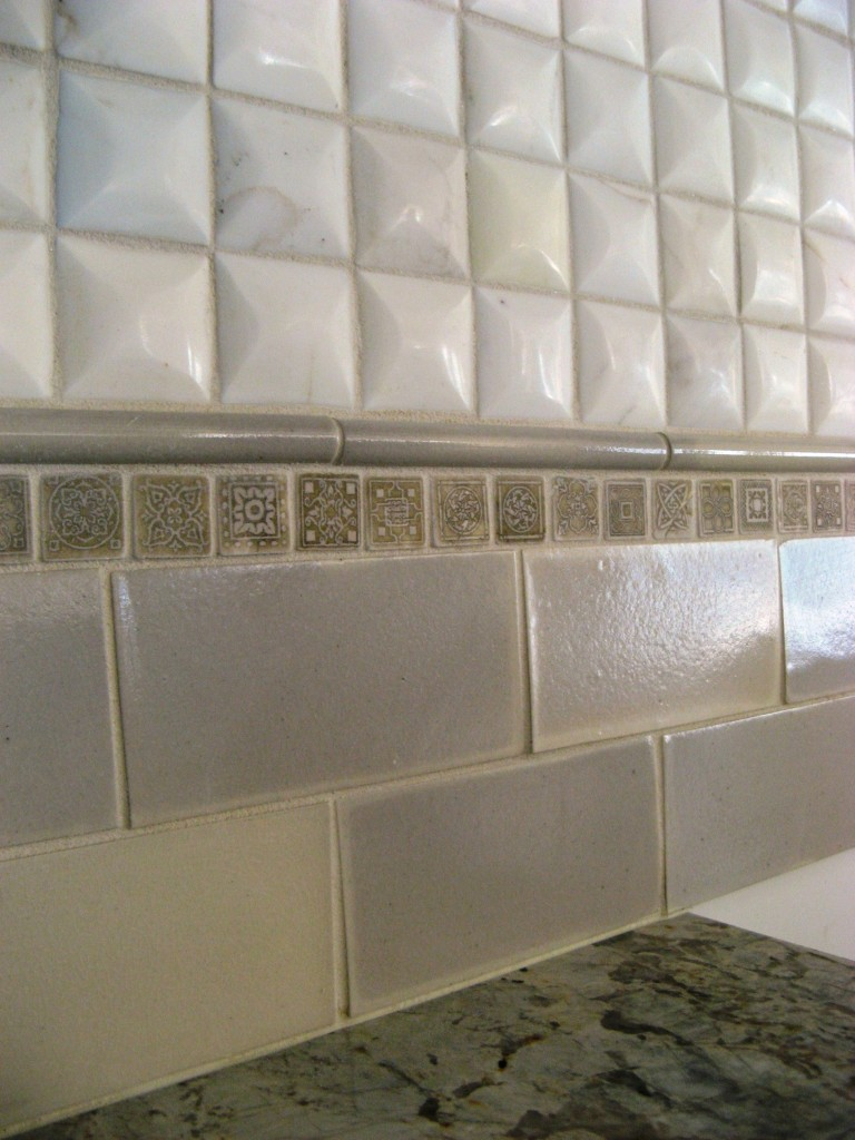 Lake Boone Backsplash detail