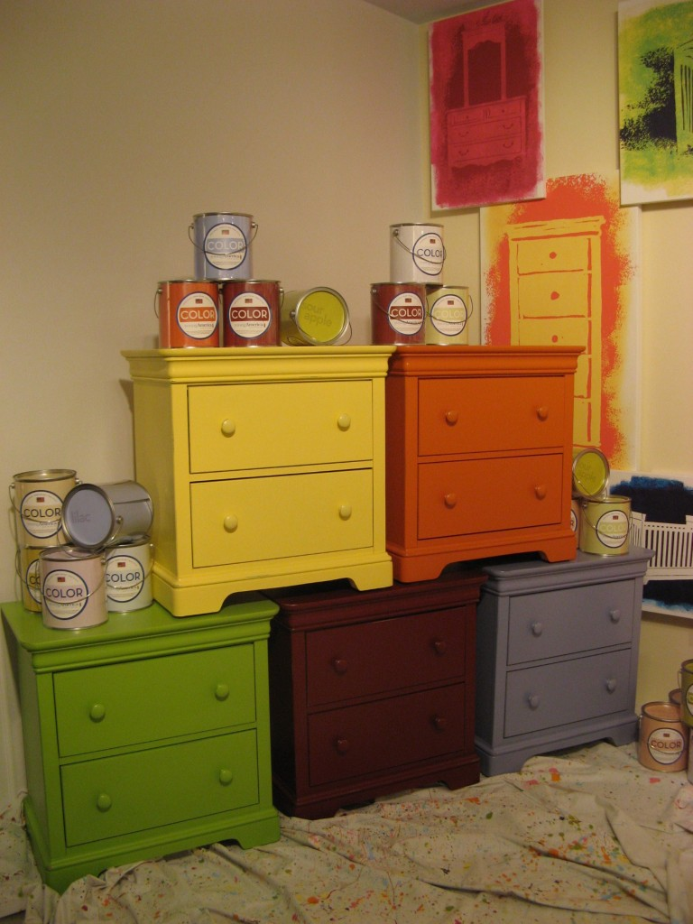 Painted Chests-Stanley