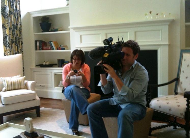 Design Lines & NBC 17 taping