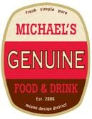 Michael's Genuine Food & Drink Logo