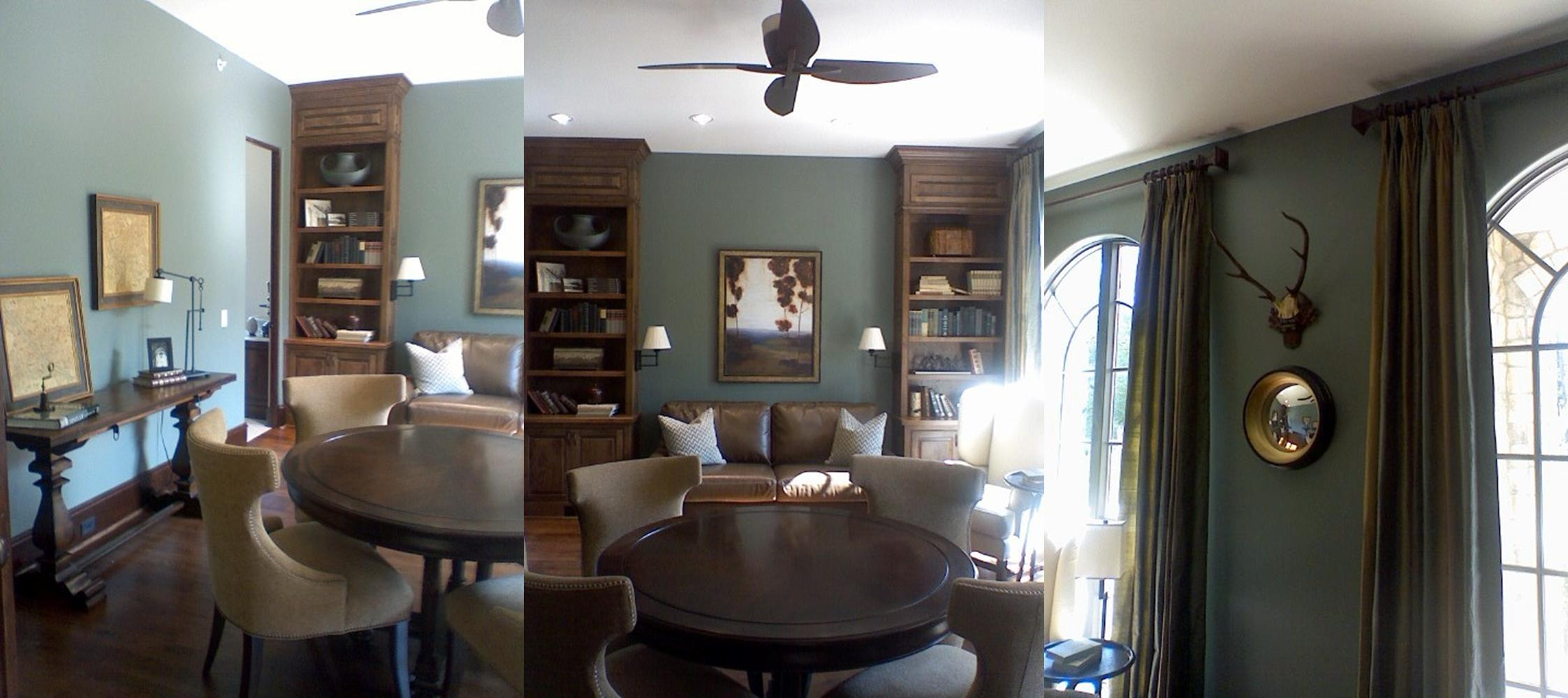 june 18 2010 - Slate Blue Living Room Ideas