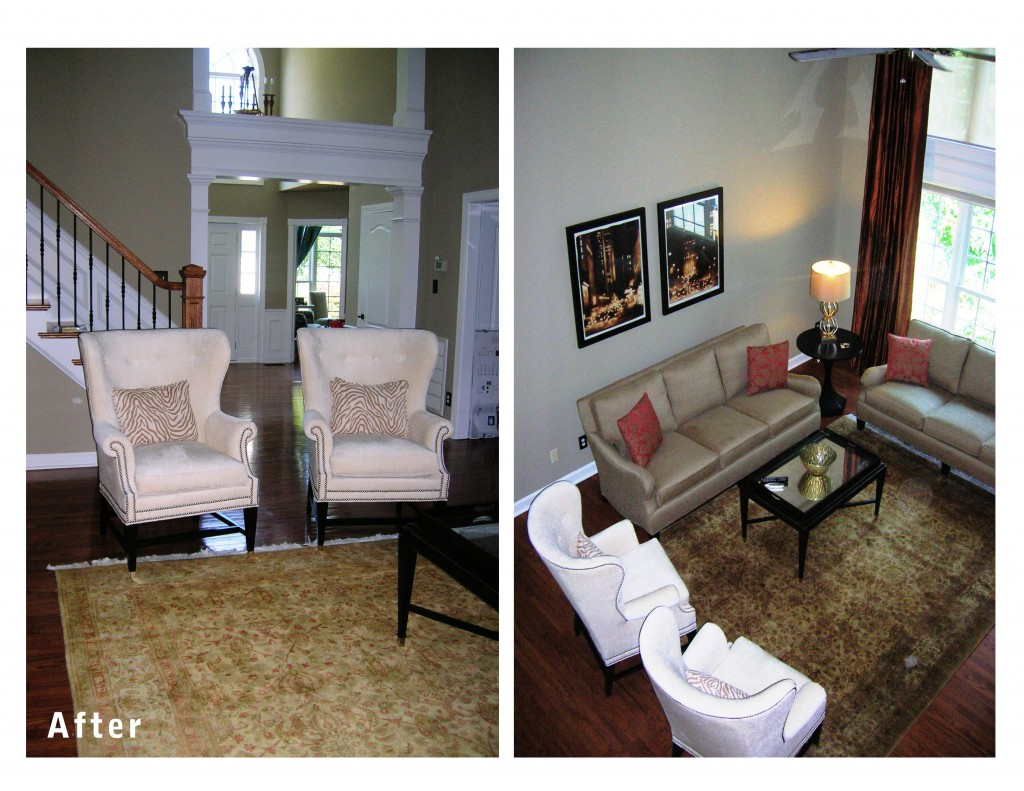 Current Project A Before After Of A Living Room Design Lines Ltd