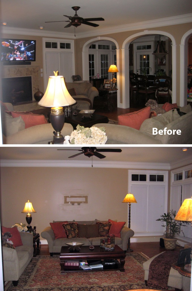 Award Wining Interior Design Raleigh, NC Design Lines 4 (Before)