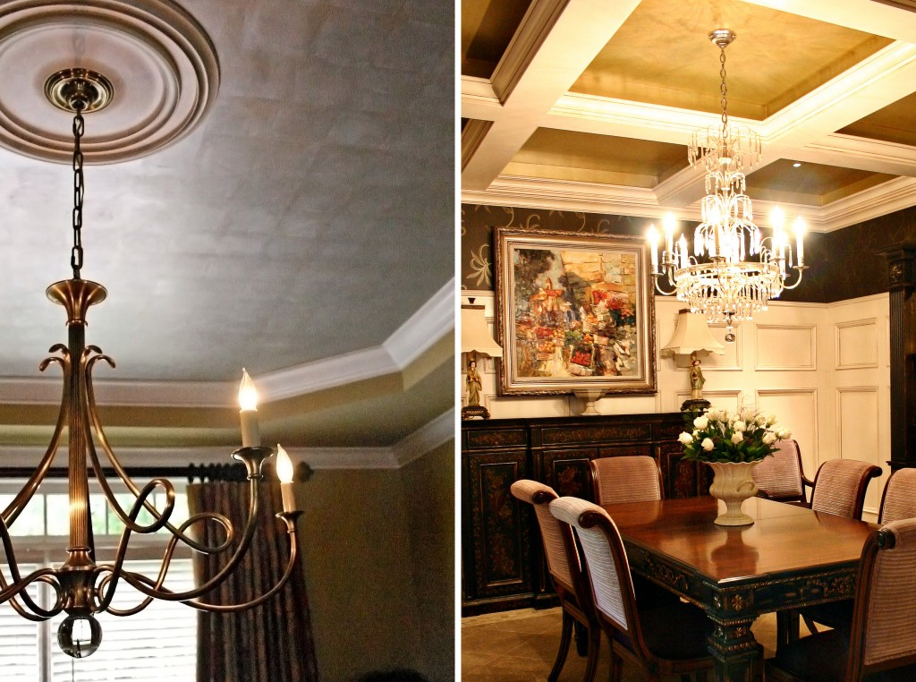 Steve Staresina Silver Leaf Tray Ceiling