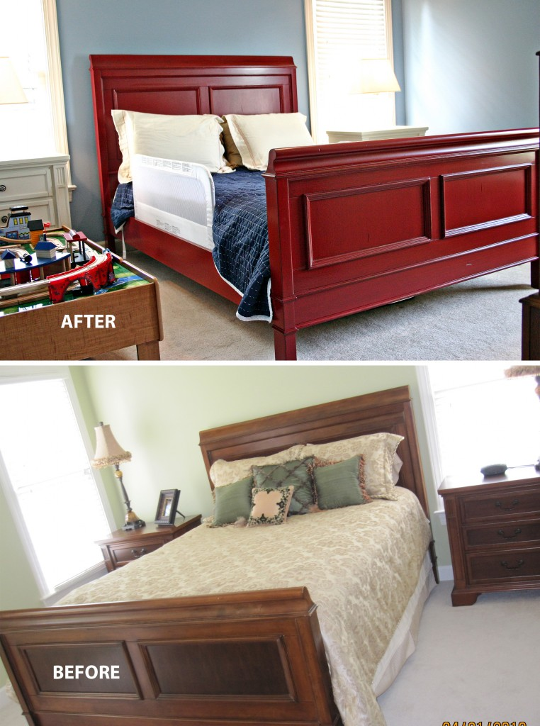 red bed before & after copy