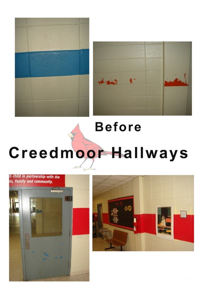 Design Lines & Creedmoor Elementary School Makeover 2010 (4)