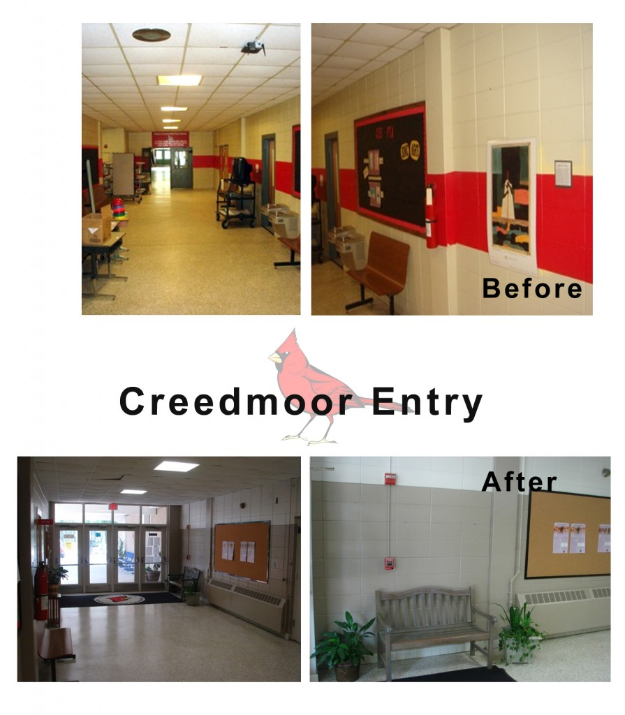 Design Lines & Creedmoor Elementary School Makeover (6)