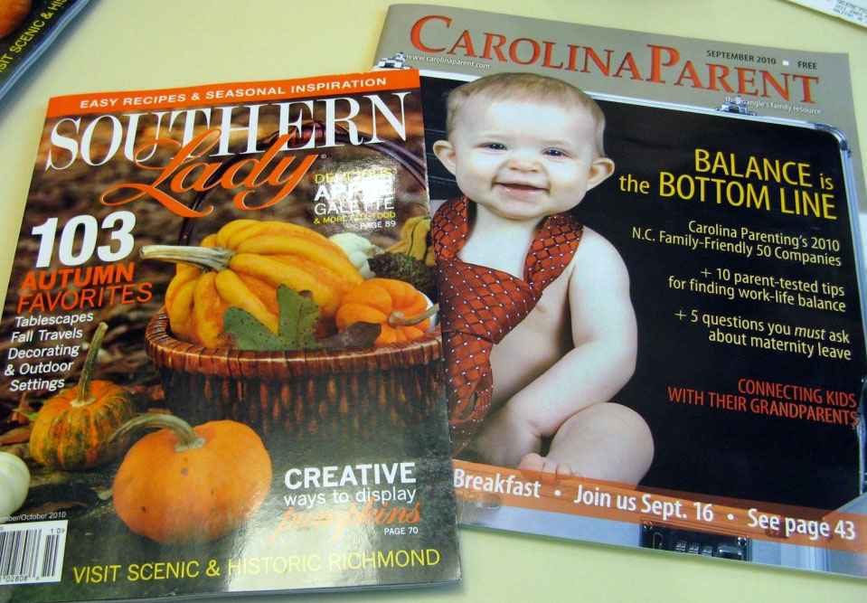 Design Lines Southern Lady & Carolina Parent Press