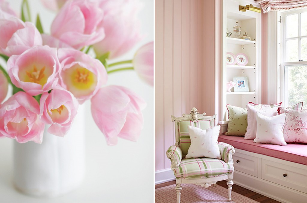 Design Lines Interior Inspired Breast Cancer Awareness Traditional Home & A Creative Mint