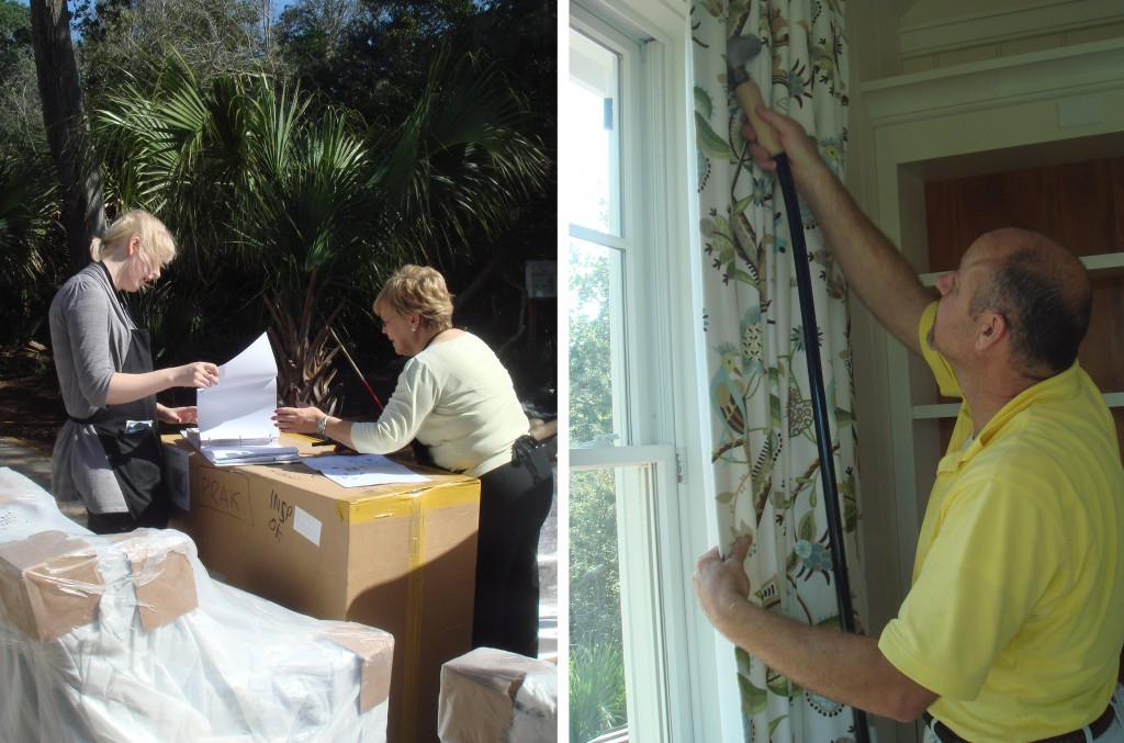 Design Lines Bald Head Island Install