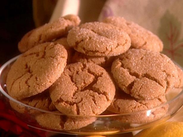 ginger cookies food network