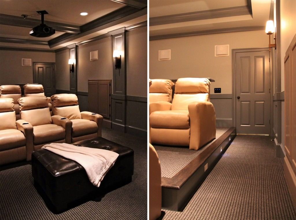 Custom Home Theater : Current Projects: A Custom Home Theater  Design Lines, Ltd.