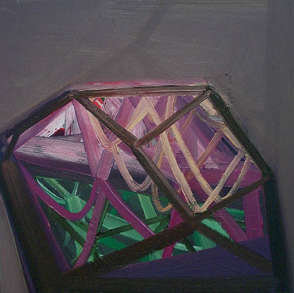 Design Lines Ltd artwork by ashylnn browning braced oil on canvas painting