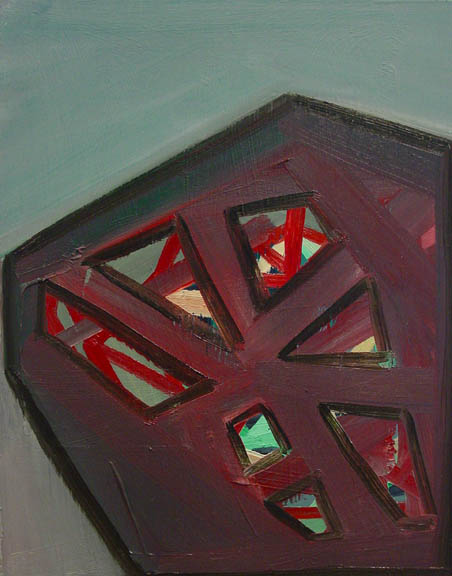 Design Lines Ltd artwork by ashylnn browning muddled clarity oil on panel