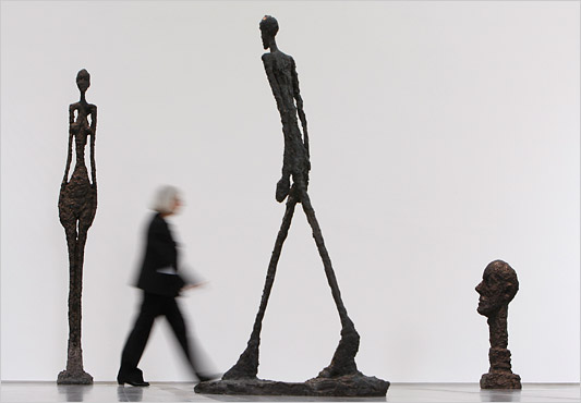 Design Lines Ltd. Alberto Giacometti Walking Man, Head, Standing Woman  sculptures