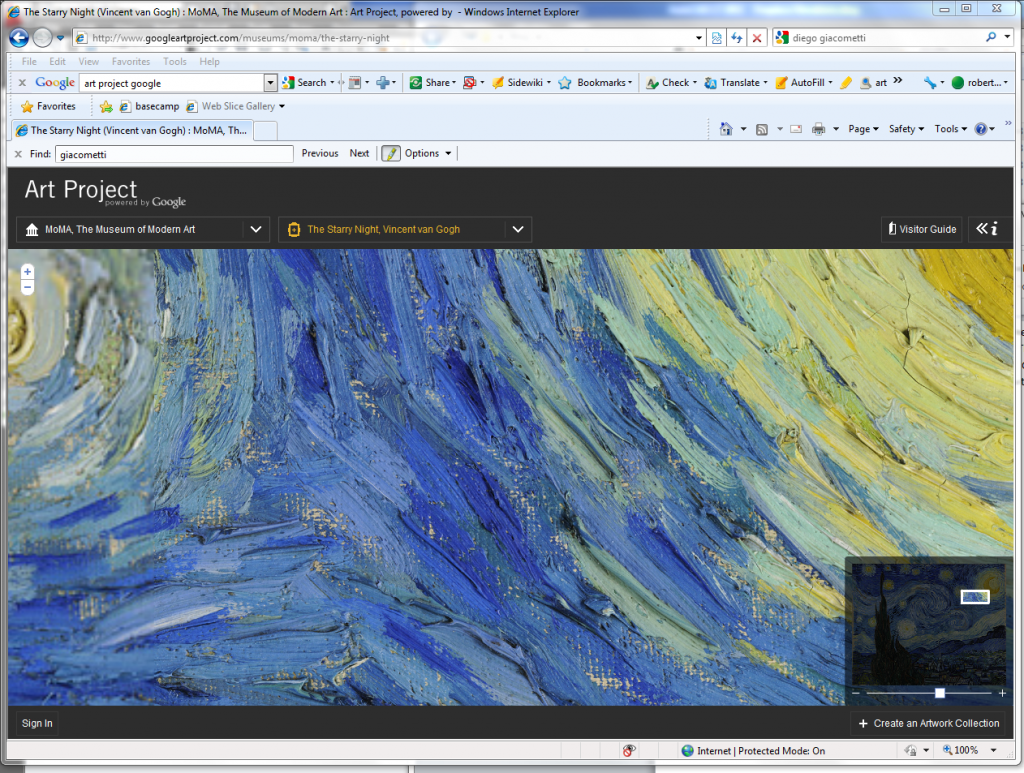 Design Lines Ltd. Google Art Project Van Gogh Closeup Starry Night
