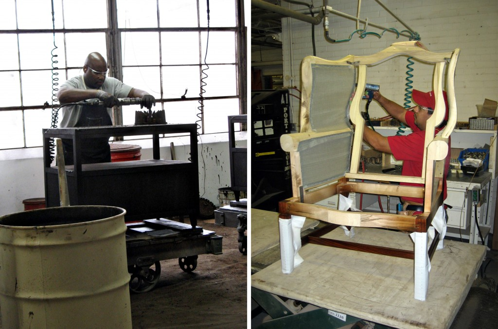 Hickory Chair - Furniture made in the USA