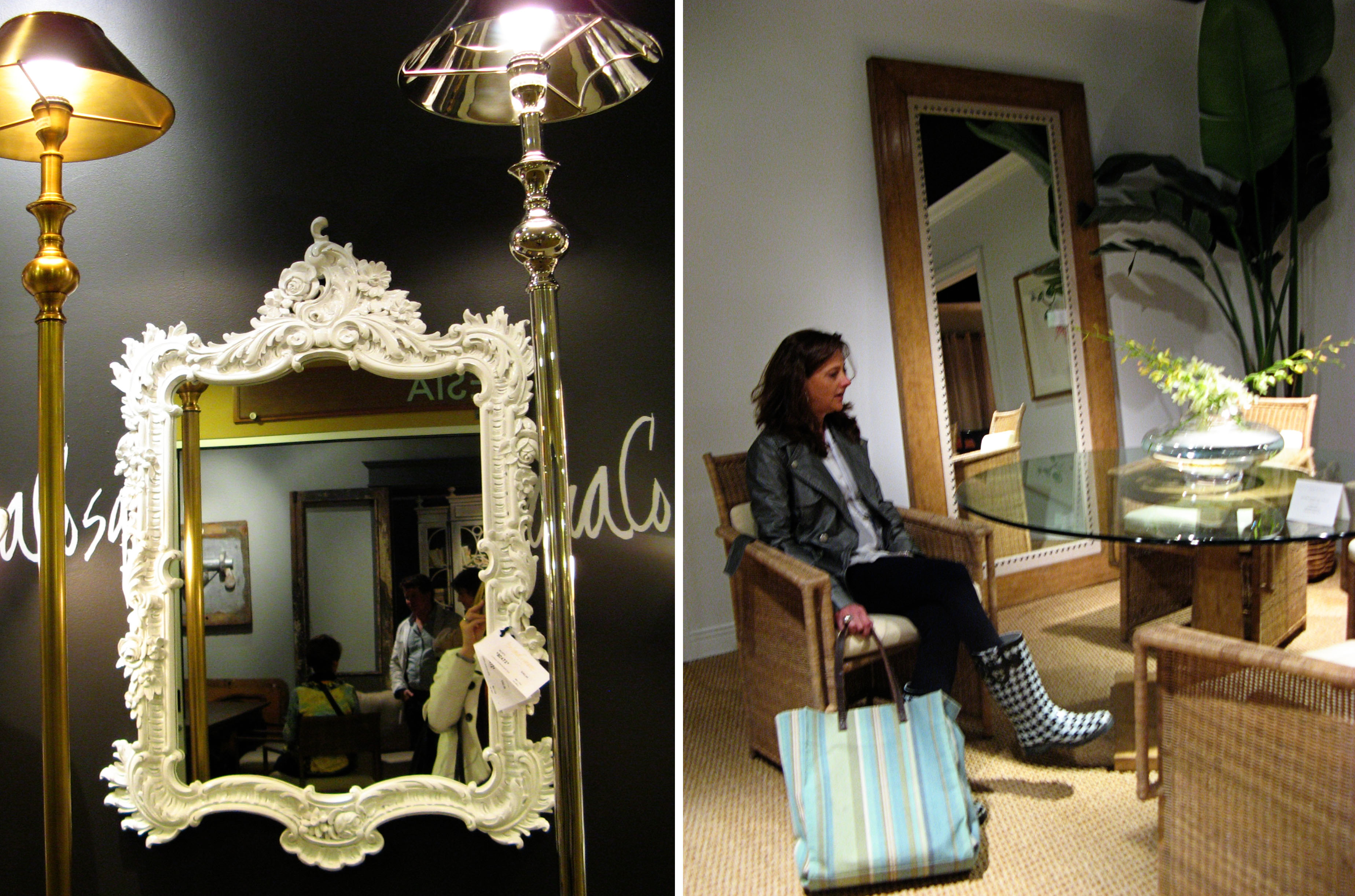 2011 Spring High Point Furniture Market Mirror Trends