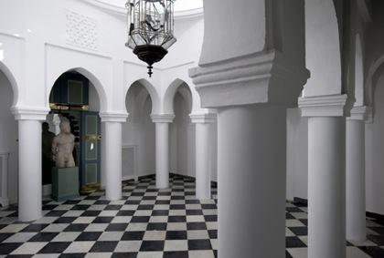 Design Lines Blog Yves Saint Laurent Moroccan Villa Mabrouka interior view court
