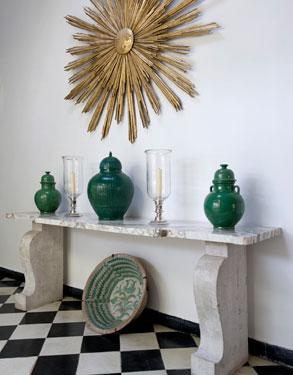 Design Lines Blog Yves Saint Laurent Villa Morocco  Interior View 3