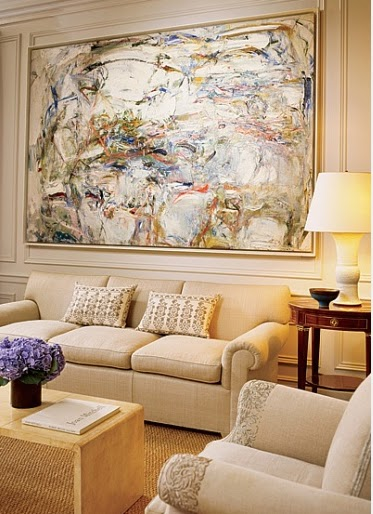 Design Lines Blog Joan Mitchell Painting In A Traditional
