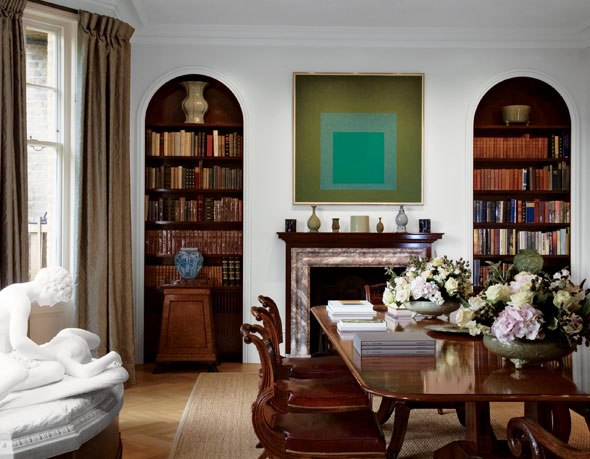 Design Lines Blog Joseph Albers Painting In A Traditional Setting Apartment Therapy