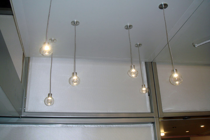 Design Lines Blog Lightfair 2011 Best and Brightest Philips LED Circa Pendant
