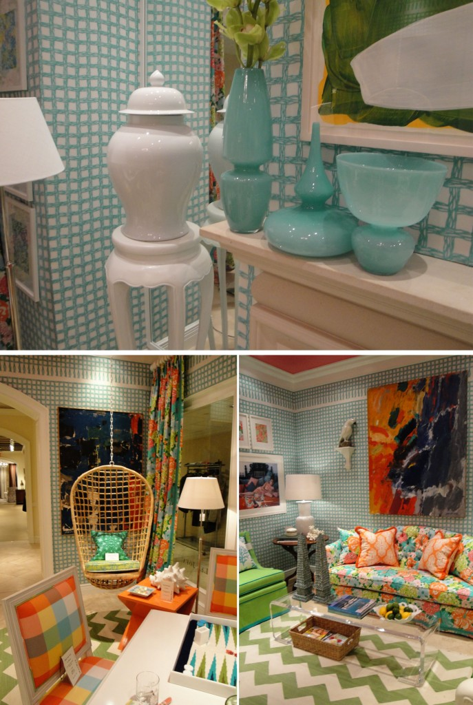 Design Lines & Kravet for Lilly Pulitzer Blogfest 2011 NYC (2)