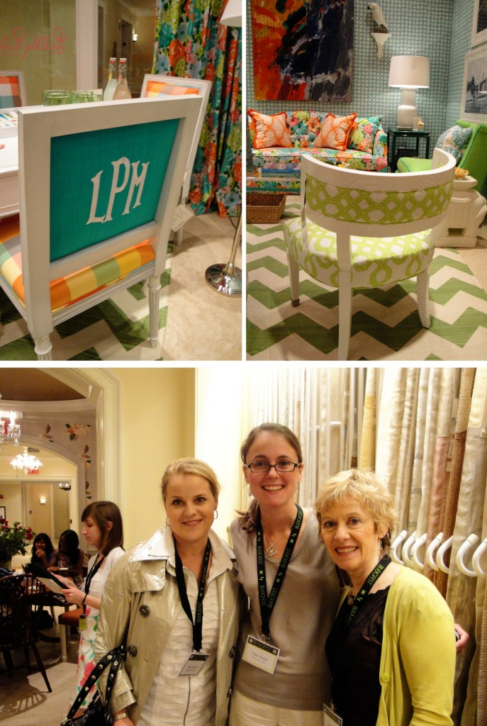 Design Lines & Kravet for Lilly Pulitzer Blogfest 2011 NYC