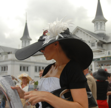 kentucky_derby from the Saturday Post