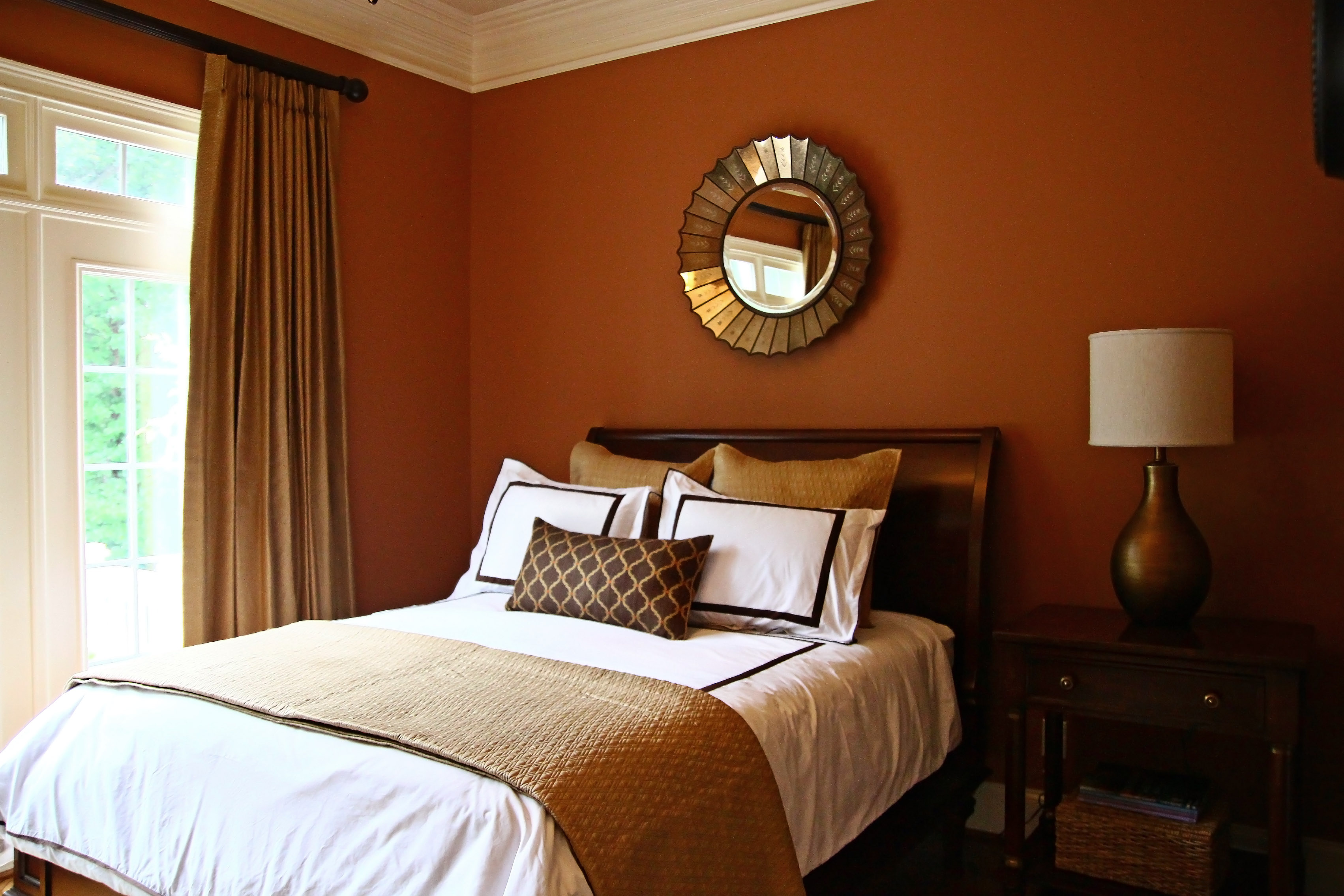 Bedroom Ideas Orange orange bedrooms