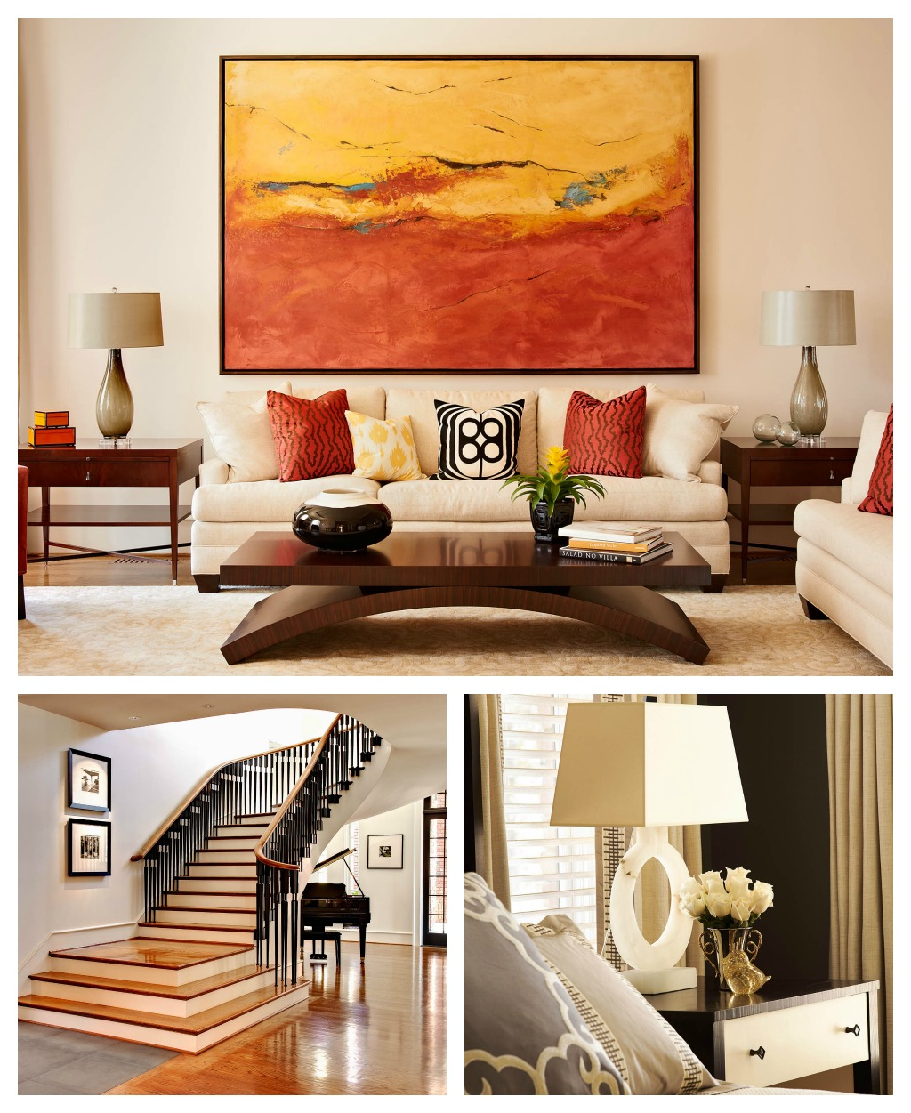 NC State Chancellor\'s House Interior Photography Design Lines Ltd ...