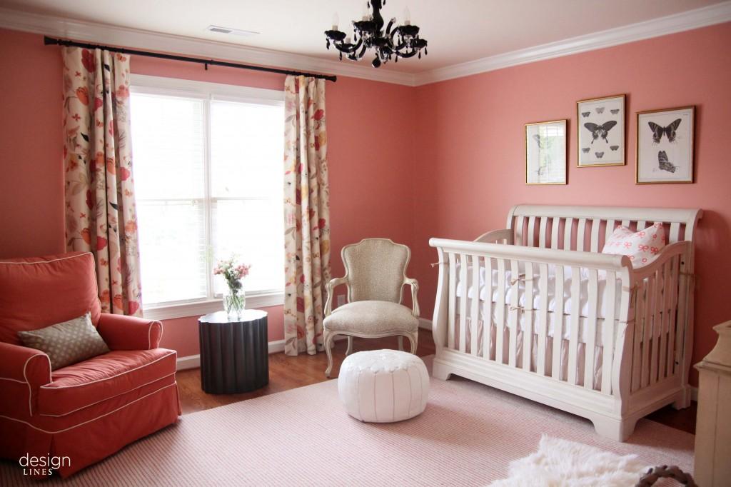 Current projects babies bows butterflies design - Peach color interior design ...