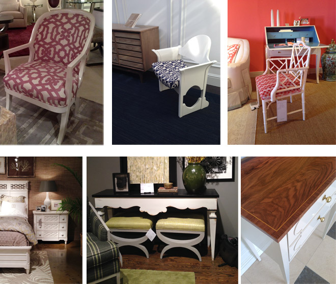 Design Lines 2014 Spring High Point Furniture Market Trends Painted White