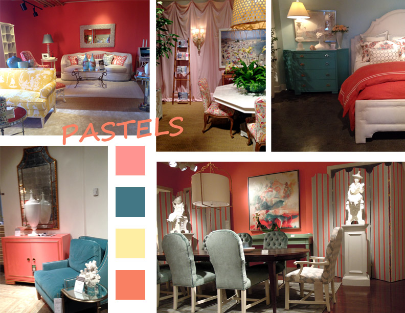 Design Lines 2014 Spring High Point Furniture Market Trends Pastels