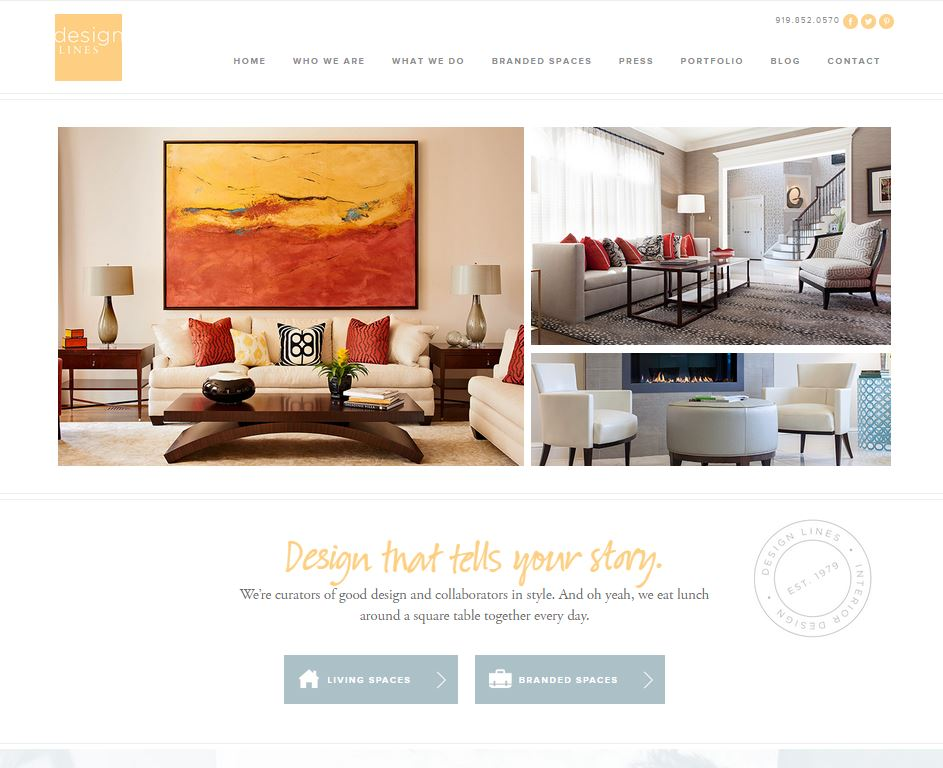 Design Lines Home Page