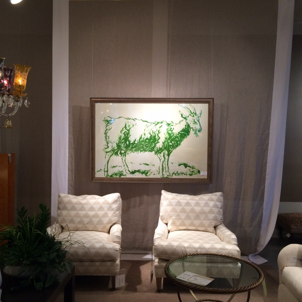 Lucky Fish Art Gallery 2014 High Point Furniture Market 2